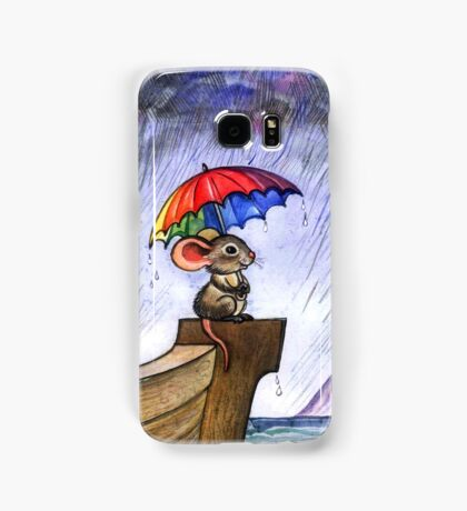 Little rainbow mouse Samsung Galaxy Case/Skin