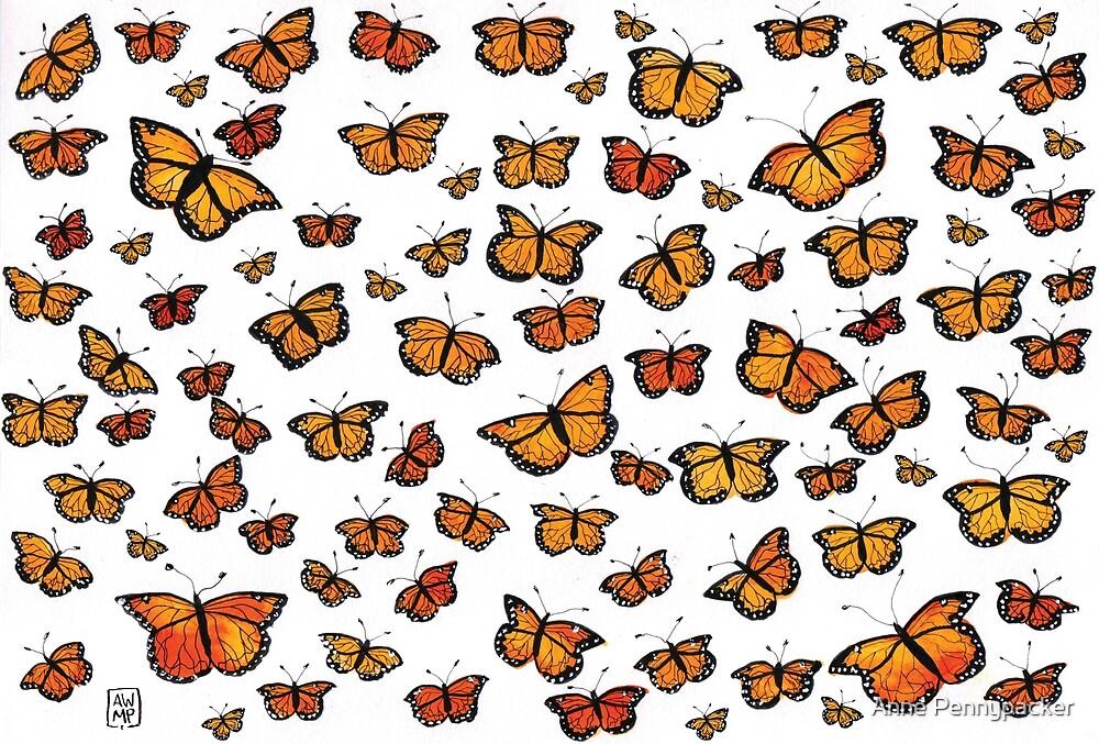 Flurry of Butterflies by Anne Pennypacker