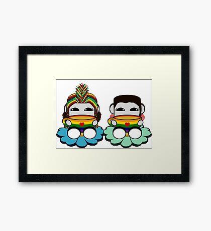 STPC: Naka Do & Oyo Yo (Tea & Pride) Framed Art Print
