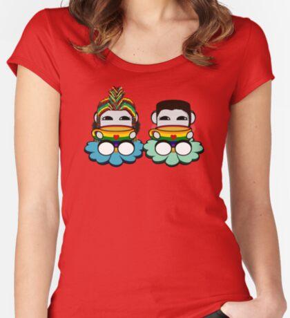 STPC: Naka Do & Oyo Yo (Tea & Pride) Fitted Scoop T-Shirt