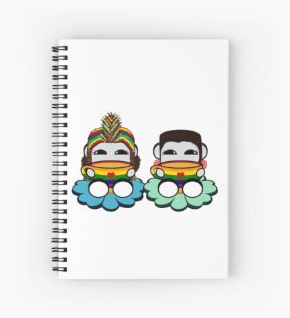 STPC: Naka Do & Oyo Yo (Tea & Pride) Spiral Notebook