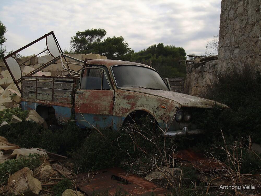 Old Pickup Truck by Anthony Vella