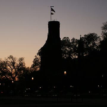 Sunrise at the Smithsonian Castle by Logan5150