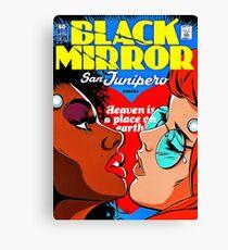black mirror Canvas Print