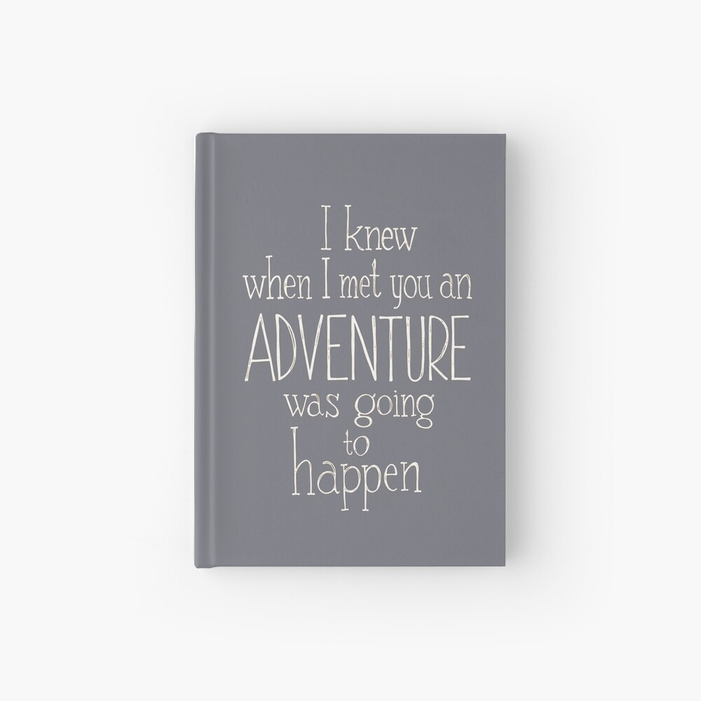 Adventure  Hardcover Journal