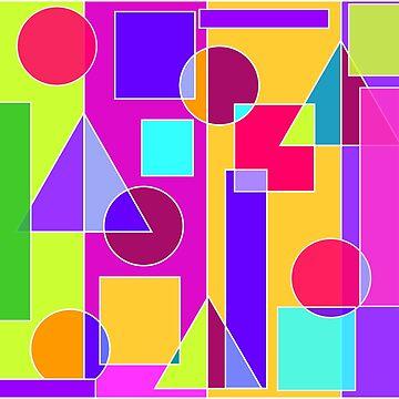 Circle Squares by susanchristophe