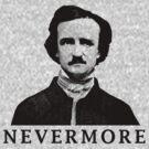 Edgar Allan Poe - Nevermore by warishellstore