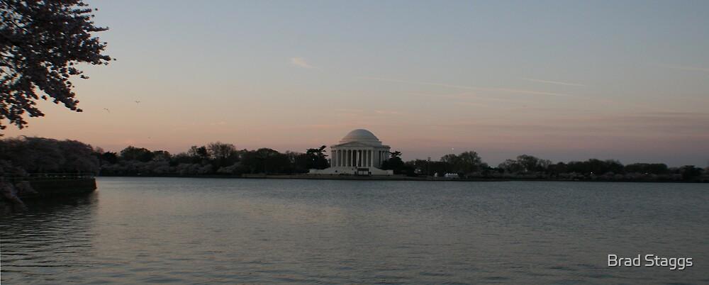 Jefferson Memorial by Brad Staggs
