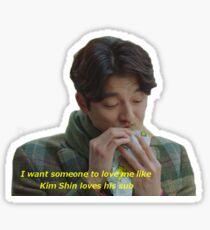 Kim Shin and his Sub Sticker