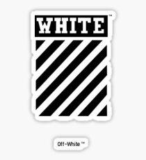 Off-white Sticker