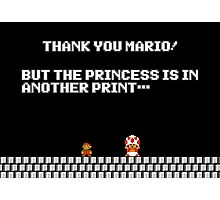 Thank You Mario Posters By Laharl Redbubble