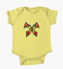 Abstract Butterfly - Red, Black, Yellow, Blue Kids Clothes