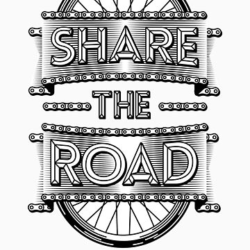Share the road by karlos