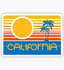 Retro California Sticker
