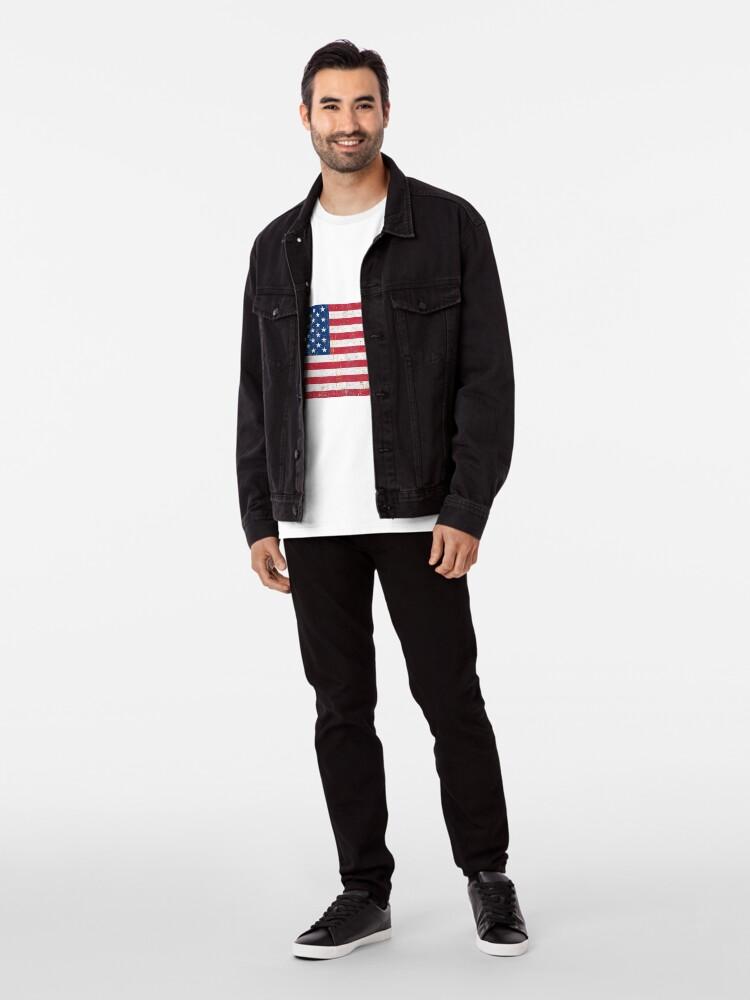 Vista alternativa de Camiseta premium Estados Unidos