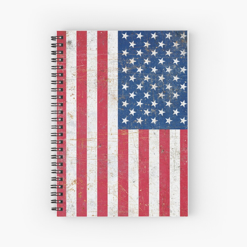 Estados Unidos Cuaderno de espiral