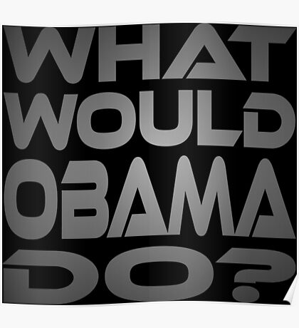 What Would Obama Do? Poster
