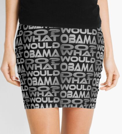 What Would Obama Do? Mini Skirt