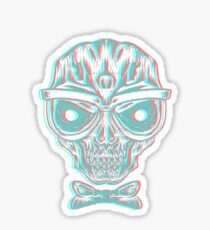 Fresh to Death 3D Sticker