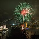 Sydney Fireworks by Dev Wijewardane