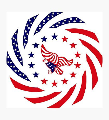 Independent Murican Patriot Flag Series Photographic Print