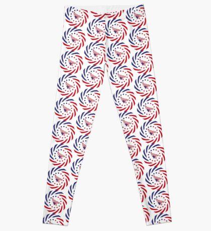 Independent Murican Patriot Flag Series Leggings
