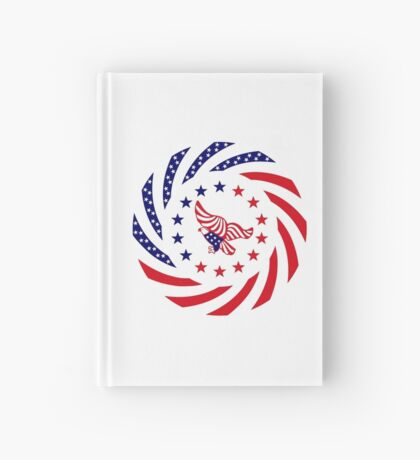 Independent Murican Patriot Flag Series Hardcover Journal
