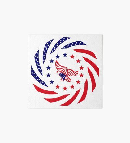 Independent Murican Patriot Flag Series Art Board Print