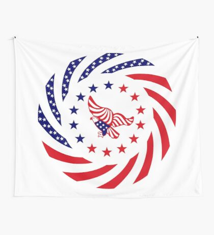 Independent Murican Patriot Flag Series Wall Tapestry