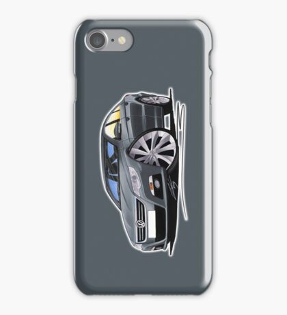 VW Passat CC Grey iPhone Case/Skin