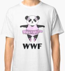 WWF Panda parody ballerina Classic T-Shirt