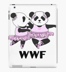WWF Panda Parody Ballerina iPad Case/Skin