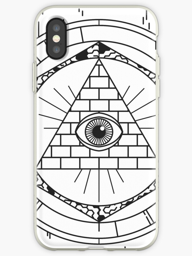 Illuminati Iphone Cases Covers By Allthingspass