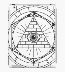 Illuminati iPad Case/Skin