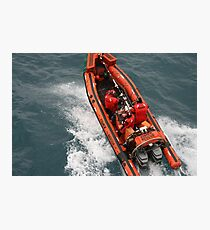 Fast Rescue Craft Photographic Print