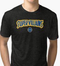 Super Villains Tri-blend T-Shirt