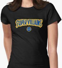 Super Villains Womens Fitted T-Shirt