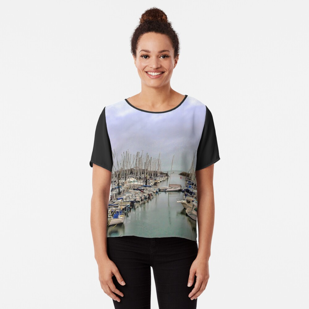 Howth Harbour Chiffon Top