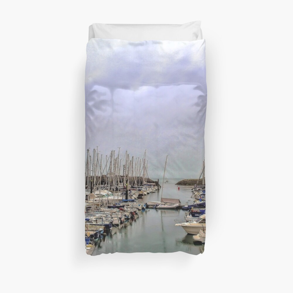 Howth Harbour Duvet Cover