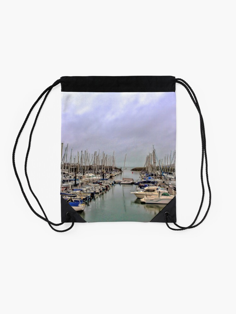 Alternate view of Howth Harbour Drawstring Bag