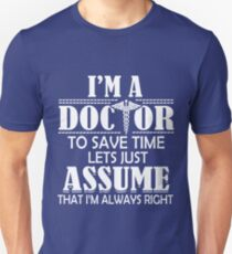 Doctor T Shirt Dr Office Medicine Healer Medical School PHD T-Shirt