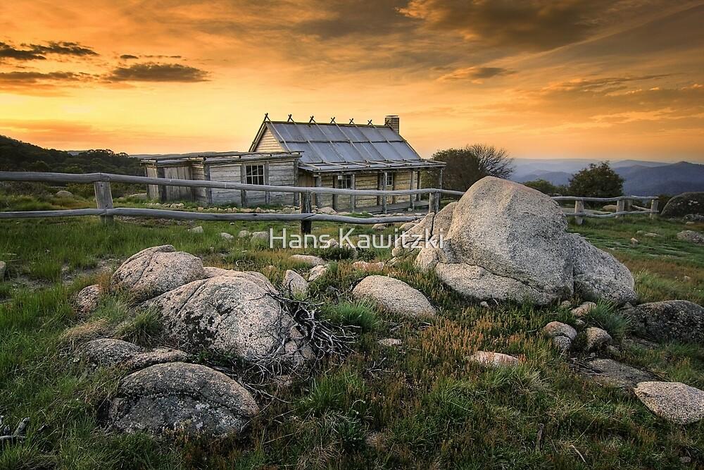 1081 Craig's Hut - Mt Stirling by Hans Kawitzki