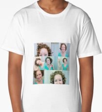 Curly Hair Fun Long T-Shirt