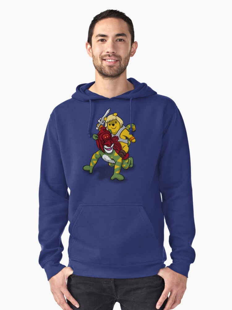 Masters of The Hundred Acres Pullover Hoodie Front
