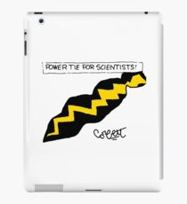 Power Tie for Scientists  iPad Case/Skin