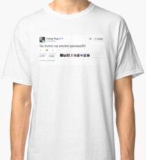 Young Thug No Homo We Smokin Tweet Classic T-Shirt