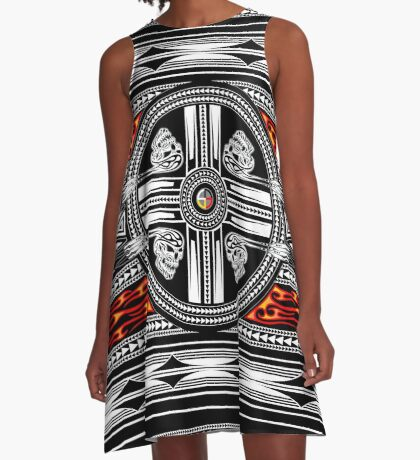 Fire Spirit A-Line Dress