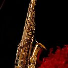 Saxophone by Avalinart