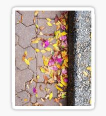 Autumn Blossom Fall Sticker