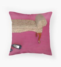 Settee Throw Pillow